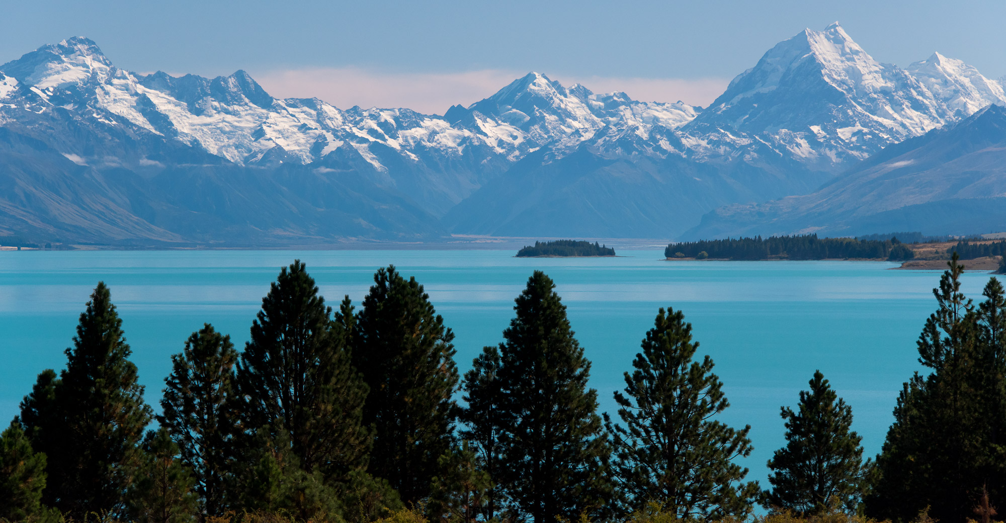 Southern Alps and Lake Tekapo - New Zealand