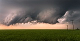Wall cloud - near La Crosse, Kansas