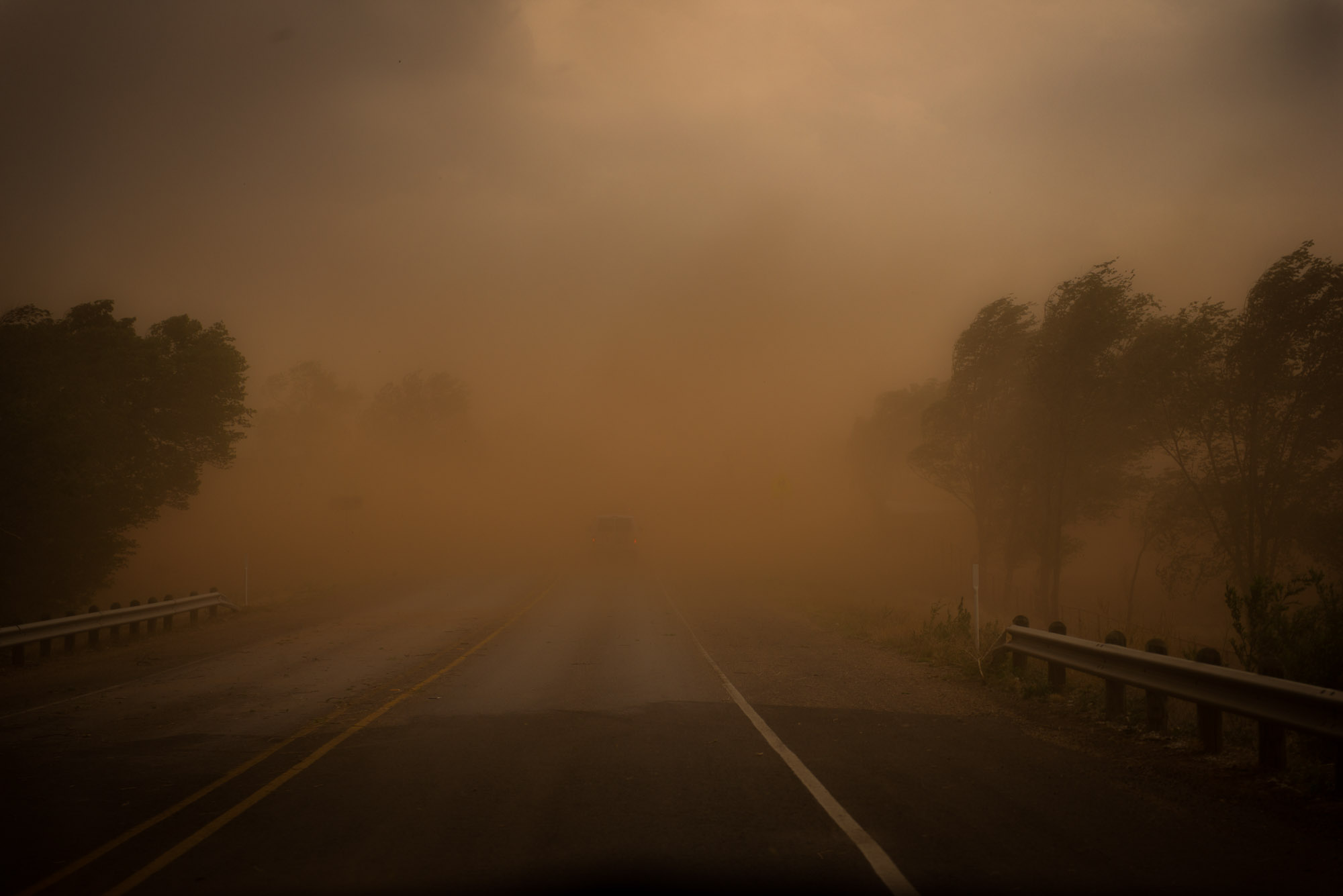 Dust storm - Spur, Texas