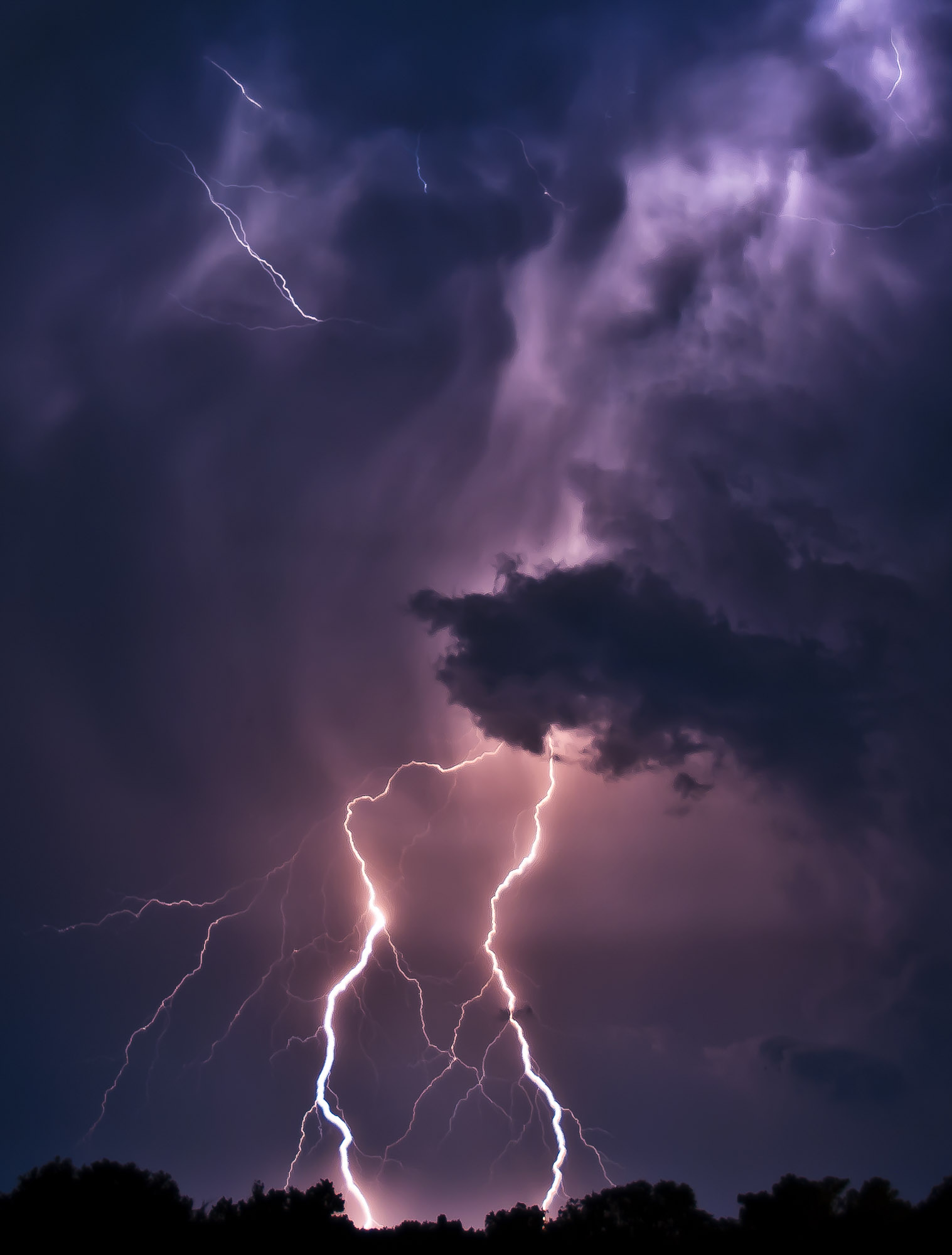 Lightning - near Gainesville, Florida