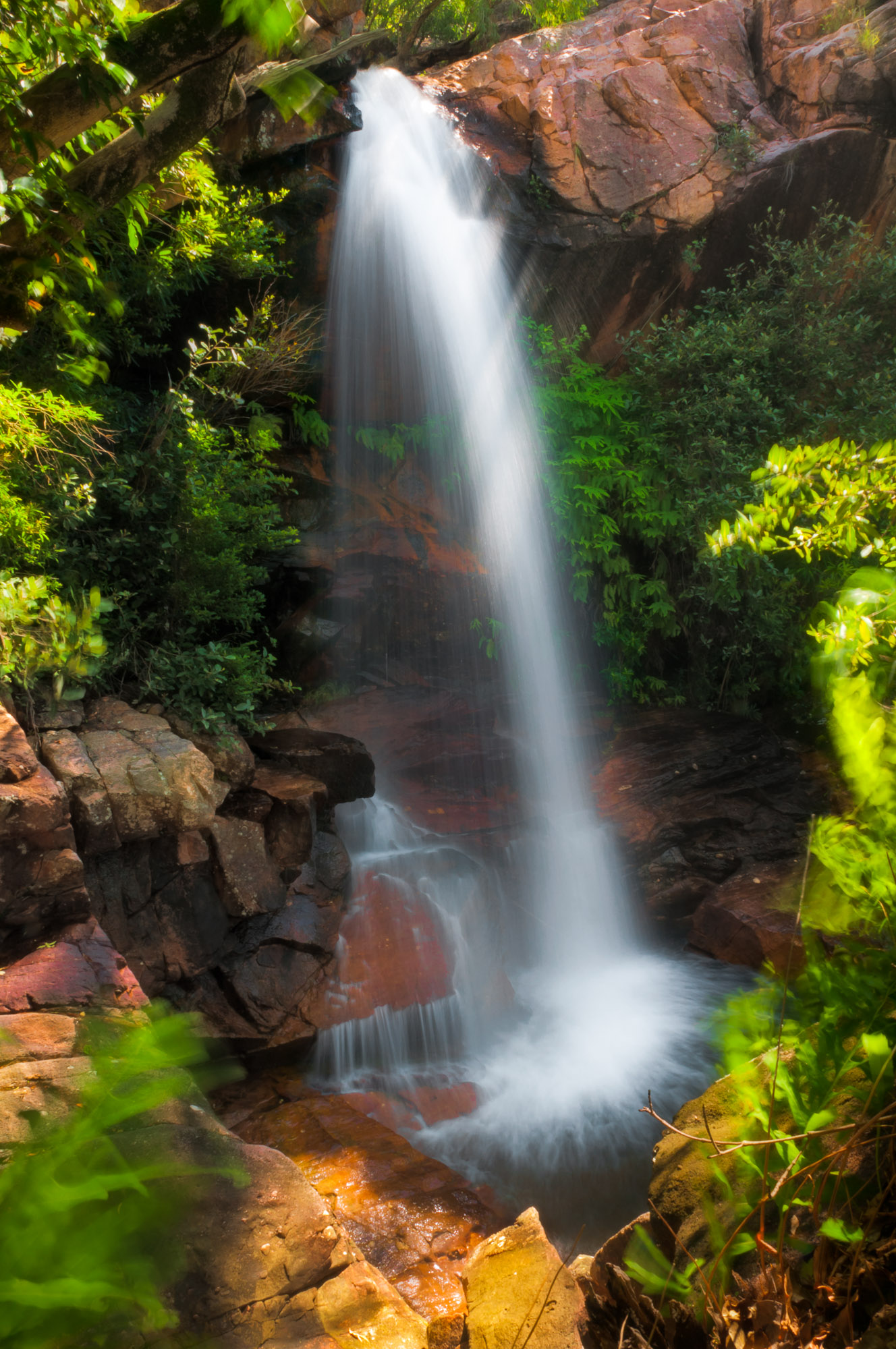Monsoon-fed Waterfall, Kakadu National Park, Northern Territory, Australia