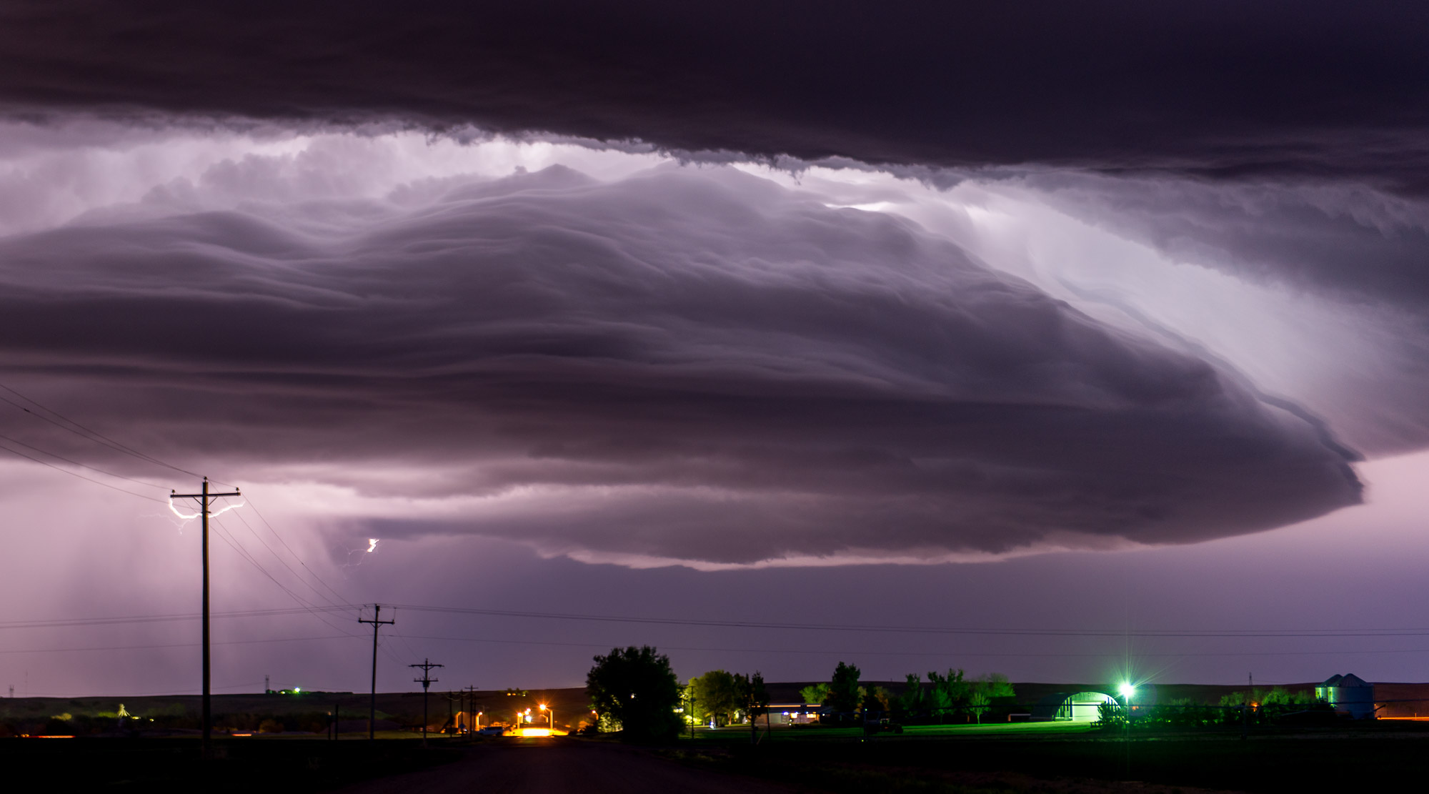 Mothership storm cloud - Paxton, Nebraska
